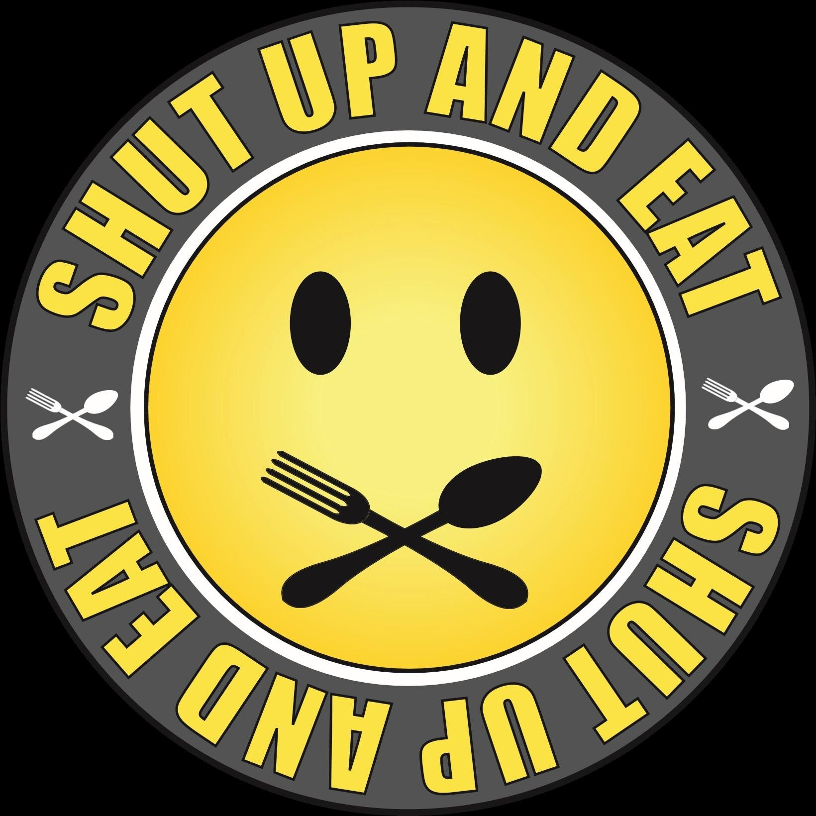 Shut Up and Eat logo